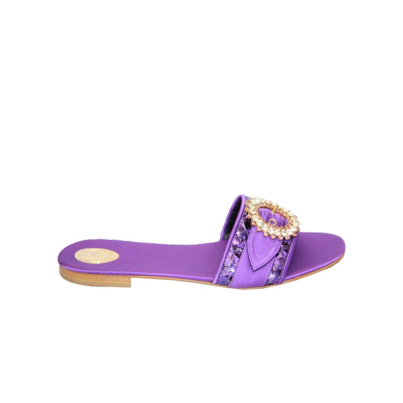 Louis David Slippers- Purple