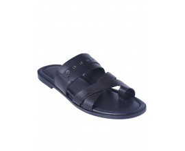 Rossi Toehold  Slippers - Black