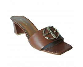 Sofia Baldi Slippers- Brown